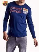 Granatowa bluzka męska FC BARCELONA                                  zdj.                                  6
