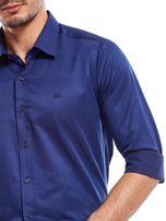 Granatowa koszula męska                                   zdj.                                  6