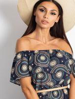 Granatowa sukienka Faraway                                  zdj.                                  5