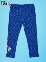 Granatowe legginsy dla dziewczynki FURBY                                  zdj.                                  2