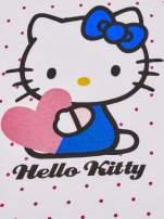 Granatowy komplet do spania dla dziewczynki HELLO KITTY