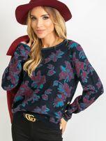 Granatowy sweter Miley                                  zdj.                                  1