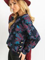 Granatowy sweter Miley                                  zdj.                                  5