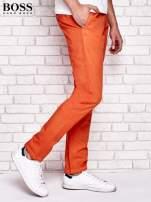HUGO BOSS Pomarańczowe spodnie męskie                                  zdj.                                  2