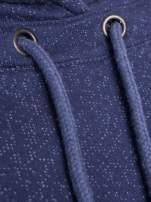 """HipsterCat' Niebieska bluza z nadrukiem kota"