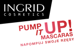 INGRID MASKARA Pump it up! VOLUME nadająca objętość 5 ml                                  zdj.                                  3