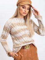 Jasnobeżowy sweter Fantasy                                  zdj.                                  5