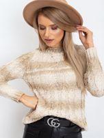 Jasnobeżowy sweter Hana                                  zdj.                                  5