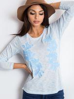 Jasnoniebieska bluzka Venice                                  zdj.                                  1
