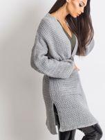 Jasnoszary sweter Luna                                  zdj.                                  3