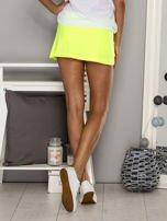 Jasnoróżowe gładkie spodenki spódniczka tenisowa