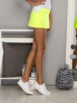 Fioletowe gładkie spodenki spódniczka tenisowa                                                                           zdj.                                                                         5