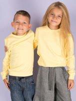 Jasnożółta bluza młodzieżowa                                  zdj.                                  1