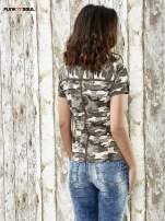 Khaki koszula w militarnym stylu Funk n Soul                                  zdj.                                  2