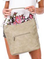 Khaki miejska torba z kieszeniami                                  zdj.                                  4