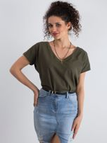 Khaki t-shirt Emory                                  zdj.                                  1