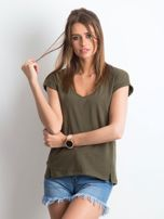 Khaki t-shirt Vibes                                  zdj.                                  1