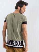 Khaki t-shirt męski Narcos                                  zdj.                                  2