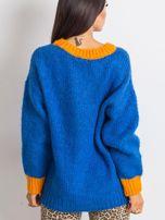 Kobaltowy sweter Pretty                                  zdj.                                  2