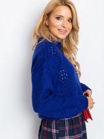 Kobaltowy sweter Victoria                                  zdj.                                  3