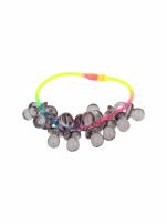 Kolorowa Bransoletka z zawieszkami w kształcie smoczków - baby shower                                  zdj.                                  2