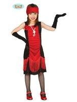 Kostium dla dziewczynki w klimacie retro