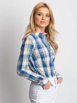 Koszula damska w kolorową kratkę                                  zdj.                                  3