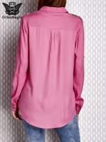 Bluzka z aplikacją różowa                                  zdj.                                  2