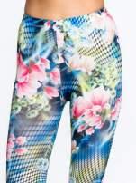 Kwiatowe legginsy z motywem floral print                                  zdj.                                  5