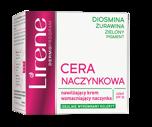 LIRENE Dermoprogram CERA NACZYNKOWA Nawilżający krem wzmacniający naczynka + wyrównujący koloryt na dzień 50 ml                                  zdj.                                  2