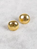 LOLITA Kolczyki damskie złote dropsy 1 cm