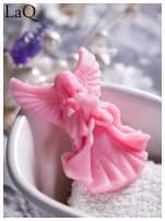 LaQ Mydełko Mały aniołek - różowy / Zapach - truskawka BEZ SLS i SLES                                  zdj.                                  1