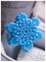 LaQ Mydełko Śnieżynka - niebieski / Zapach - wata cukrowa BEZ SLS i SLES                                  zdj.                                  4