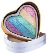 MAKEUP REVOLUTION Rozświetlacz wypiekany Unicorns Heart Baked Highlighter 10g                                  zdj.                                  1