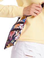 Materiałowa saszetka w kolorowe kwiaty                                  zdj.                                  2