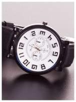 Męski zegarek. Nowoczesny design i styl! Trójwymiarowa tarcza.                                  zdj.                                  2