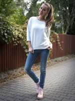 Miętowa bluza oversize z łączonych materiałów                                  zdj.                                  9