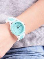 Miętowy zegarek damski                                  zdj.                                  3