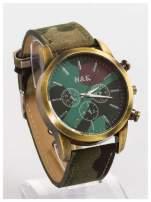 N&K Męski zegarek MORO z ozdobnym tachometrem                                   zdj.                                  4