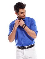 Niebieska koszula męska                                   zdj.                                  7