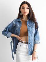 Niebieska kurtka jeansowa Mysterious                                  zdj.                                  1