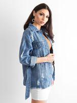 Niebieska kurtka jeansowa Mysterious                                  zdj.                                  3