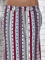 Niebieska spódnica maxi w azteckie wzory                                  zdj.                                  5