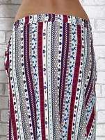Niebieska spódnica maxi w azteckie wzory                                  zdj.                                  7