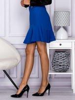 Niebieska spódnica z falbaną                                  zdj.                                  2