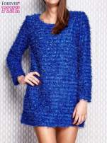 Niebieska sukienka fluffy                                  zdj.                                  1