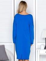 Niebieska sukienka z gwiazdą                                   zdj.                                  2