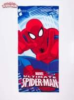 Niebieski chłopięcy ręcznik SPIDERMAN