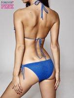 Niebieski stanik od bikini z koronką                                  zdj.                                  3