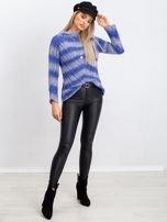 Niebieski sweter Madison                                  zdj.                                  4